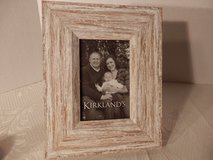 "Brand New 3x5"" Whitewashed Picture Frame. in Joliet, Illinois"