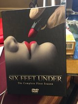 Six Feet Under The Complete First Season DVD Set in Lockport, Illinois