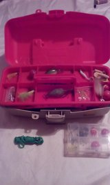 Plano Tackle Box Loaded with Fishing Gear in Columbus, Georgia
