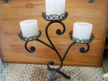 Wrought Iron 3 Candle in Cherry Point, North Carolina