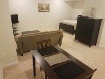 New Furnished Private Basement Studio, Utilities Included in Quantico, Virginia