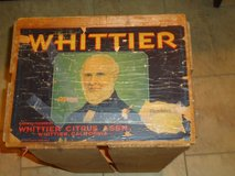 antique whittier orange crate in Naperville, Illinois