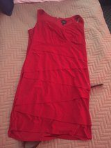 size 18 red dress knee length in Okinawa, Japan