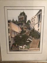 Framed Print of Quebec in Sandwich, Illinois