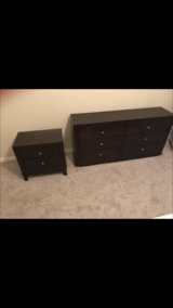 Furniture set. Dark brown with dresser mirror in CyFair, Texas