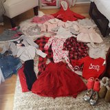 HUGE 55+ LOT of 2T Girl Clothes and Shoes in 29 Palms, California
