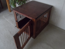 Dog Crate End Table - Wood - New in Fort Belvoir, Virginia