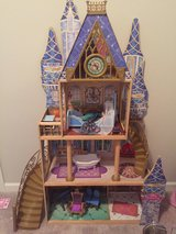 Disney princess doll house in Fort Riley, Kansas