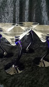 Martini glasses in Fort Knox, Kentucky