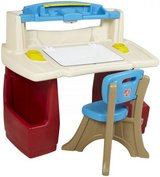 Step 2 Toddler desk with/ chair in Fort Campbell, Kentucky