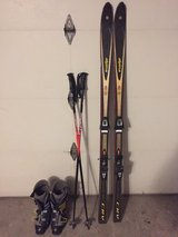 Skis, poles, and boots in Bolingbrook, Illinois