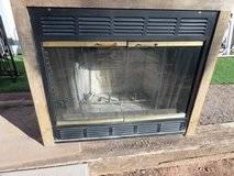 Wood burning fireplace built in style zero clearance in Alamogordo, New Mexico