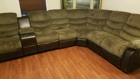 4 Piece Sectional Sofa & Recliner. New. 3 Year Protection Plan. in Hinesville, Georgia