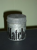 vintage match holder in Naperville, Illinois