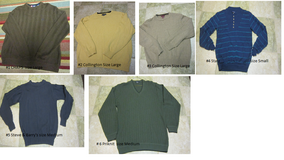 Men Sweaters size from small to large (Naperville) in Glendale Heights, Illinois