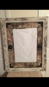 HOMEGOODS DISTRESSED MIRROR in Great Lakes, Illinois