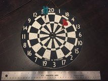 Vintage dart board made in England in Glendale Heights, Illinois
