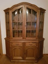 Wood china cabinet in Ramstein, Germany