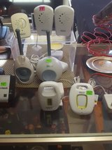Assorted baby monitors in Yucca Valley, California
