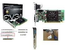 NVIDIA chipset EVGA 8400 GS 1GB DDR3 PCI- E 16X Video Card in Fort Rucker, Alabama