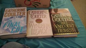 3 Catherine Coulter books in Cherry Point, North Carolina