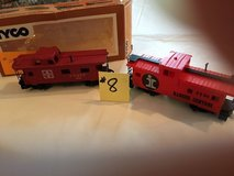 Vintage HO-Scale Train Cabooses' Lot #8 in Wheaton, Illinois