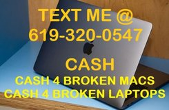 CASH 4 BROKEN MACS in Oceanside, California