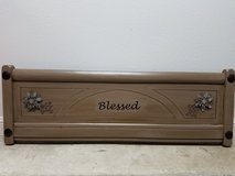 Blessed Headboard wall hanging in Kingwood, Texas