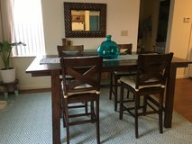 Reclaimed look wood table and 4 chairs in Watertown, New York