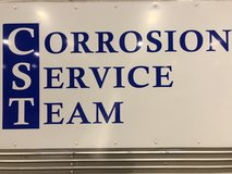 Corrosion Service Team in Okinawa, Japan