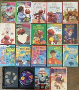 18 children's DVDs in Joliet, Illinois