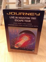 Journey - Live in Houston 1981: Escape tour (DVD,2005,2 Disc Set, Includes CD) in Fort Leonard Wood, Missouri