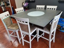 Counter height dining table in Olympia, Washington
