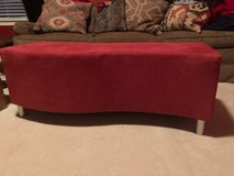 Red contemporary - accent table/ ottoman in Kingwood, Texas
