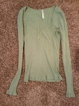 Green Long Sleeved Sweater in Ruidoso, New Mexico
