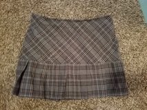 Grey & Pink Plaid Skirt  (Size 7) in Ruidoso, New Mexico