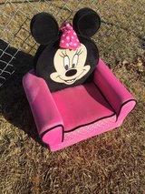 Mini mouse chair in Fort Riley, Kansas