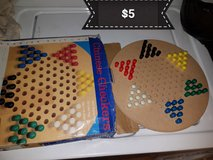 Chinese checkers game in Travis AFB, California