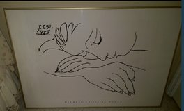 Picasso – Sleeping Woman (black & white)  REDUCED PRICE in Kingwood, Texas