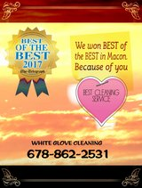 White Glove Cleaning in Warner Robins, Georgia