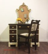 Completely Restored Executive Antique Desk w/ Matching Chair in Baumholder, GE