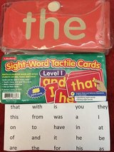 Lakeshore Sight Word Tactile Cards Level 1 in Okinawa, Japan