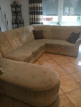 German U-Shaped Couch, 4 sections in Ramstein, Germany