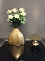 golden vase and candle holder in Baumholder, GE