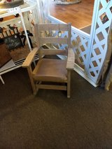 Antique childs rocking chair in Oswego, Illinois