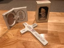 Precious Moments Cross, Picture Frame and Figurine in Naperville, Illinois