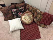 Assorted pillows in Baytown, Texas