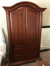 Wide Dresser and Armoire in Houston, Texas