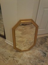 gold octagon shaped mirror in Bolling AFB, DC