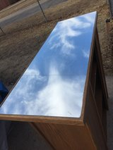 """bar with glass top 42x15.5"""" 43"""" tall in Fort Riley, Kansas"""